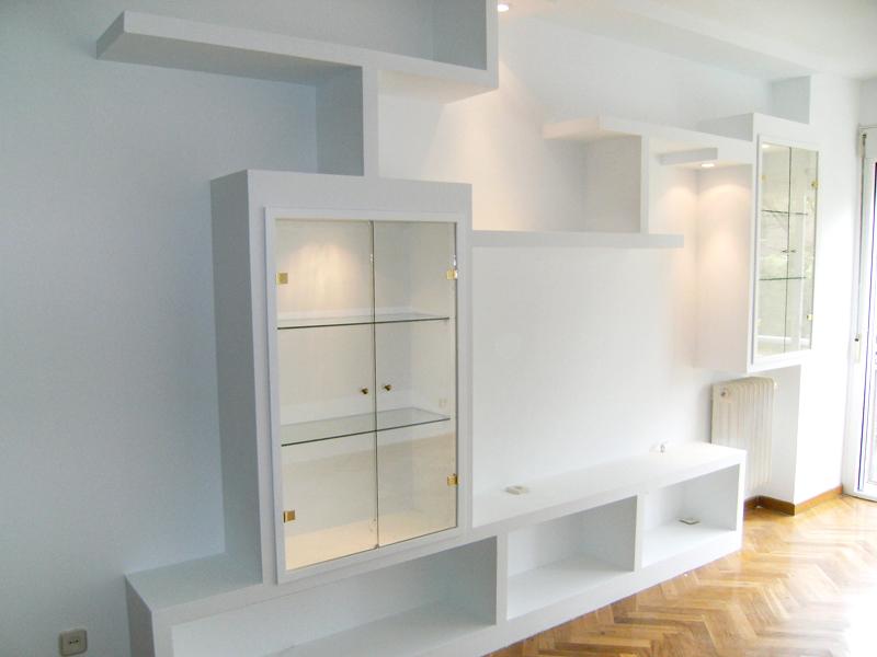 Muebles y estanterias pladur madrid for Muebles pladur
